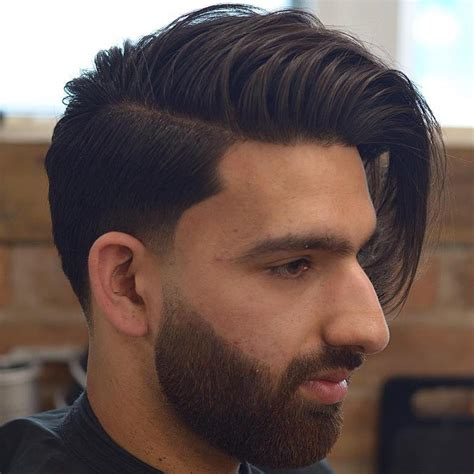 side sweep haircut boys 40 statement hairstyles for men with thick hair side