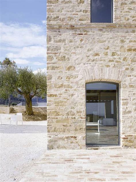 house renovation in treia italy by wespi de meuron