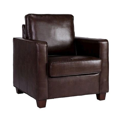 Accent Chairs 150 Leather Chair Upholstered Chair Threshold Square Arm