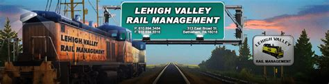 Mba In Lehigh Valley by Lehigh Valley Rail Management Shortline Railroad In