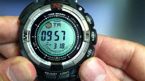 Jam G Shock Protek casio protrek prg 130 1v solar power
