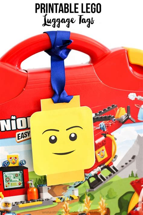 printable lego gift tags printable lego luggage gift tags printable crush