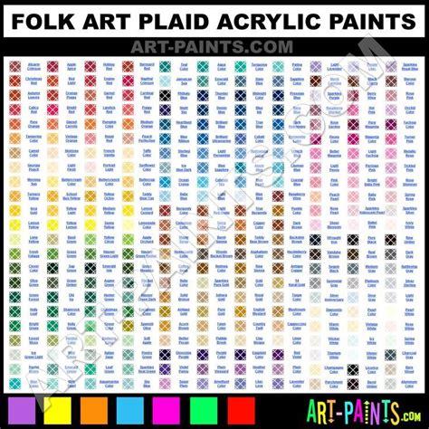 folk colors folk paint color chart color charts