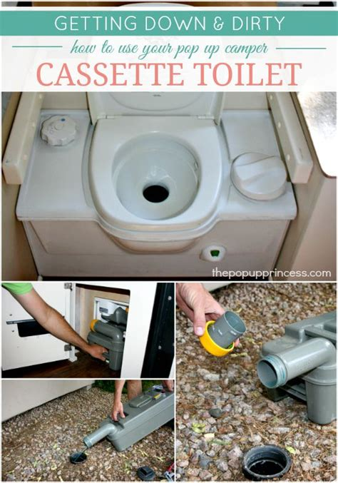 How To Use A Thetford Toilet by How To Use Maintain Your Pop Up Cer Toilet