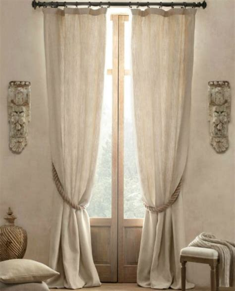 Rope Tiebacks For Curtains Creative Ways To Use Rope In Your Home S D 233 Cor Driven By Decor