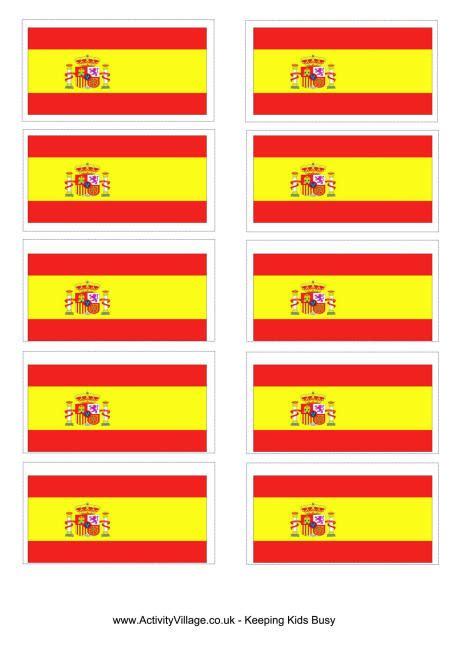 Spain Flag Printable