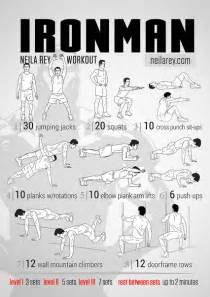 printable iron strength workout neila rey s photos
