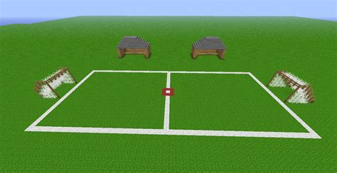 how to build a soccer field in your backyard soccer field minecraft project