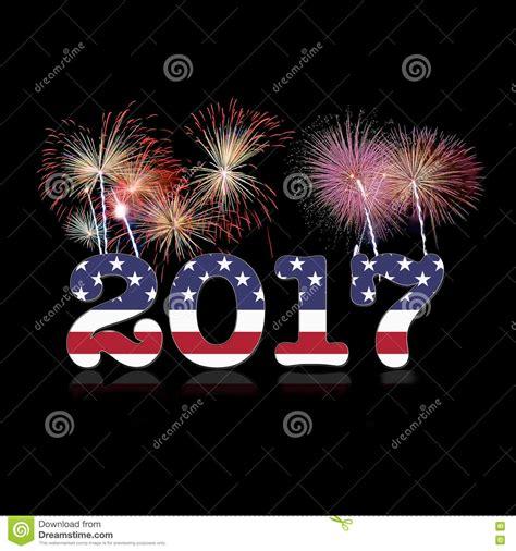 usa new year 2017 stock illustration image 79259785