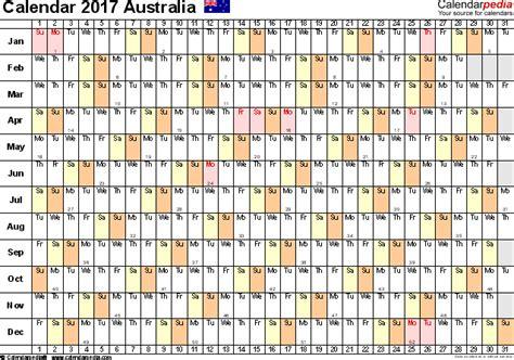 free linear calendar template australia calendar 2017 free printable excel templates