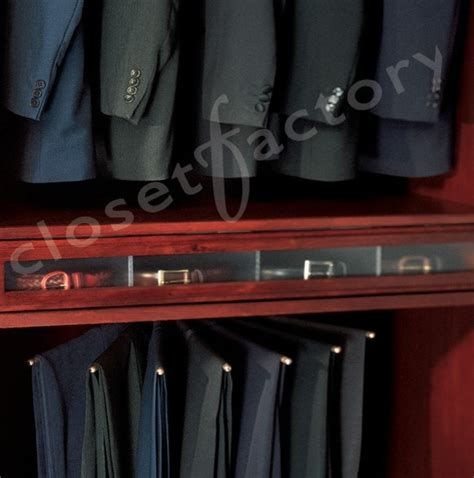 Belt Drawer by S Closet Belt Drawer And Pant Rack Traditional