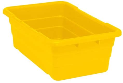 bus bin cross stack tub containers tub