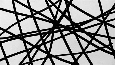 black and white random pattern chaotic random white lines abstract motion black