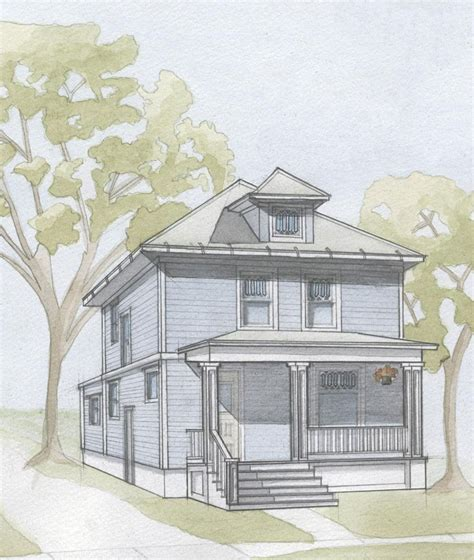 house porch drawing screen porch plans for home is that complicated custom