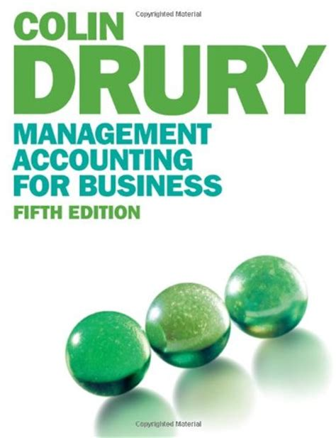 Accounting For Business Decisions Mba by Solution Manual For Management Accounting For Business 5th