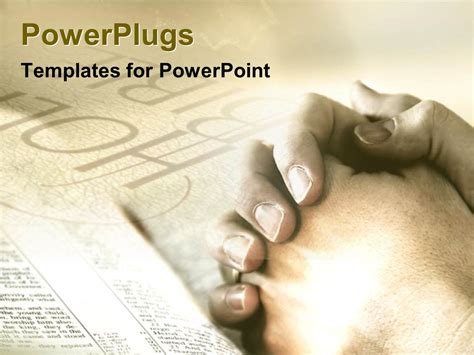 powerpoint templates free download god powerpoint template praying prayers god folded hands holy