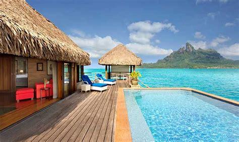Best Couples Retreat Vacation St Regis Bora Bora Resort Tahiti Vacations Bora Bora