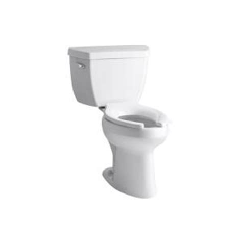 comfort height toilet home depot kohler highline classic 2 piece 1 6 gpf elongated toilet