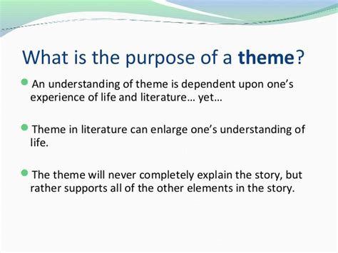 themes in literature explained theme symbols and motifs