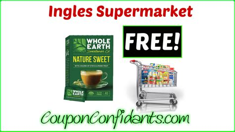 ingles printable grocery coupons free whole earth sweetener at ingles coupon confidants