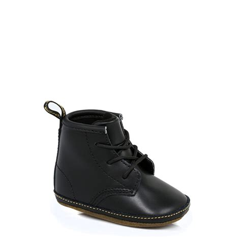 infant boots dr martens infant baby boys docs shoes black