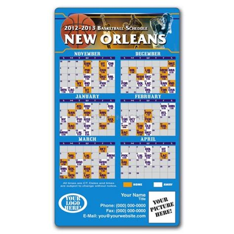 New Orlean Hornets 1 new orleans hornets basketball team schedule magnets 4 quot x
