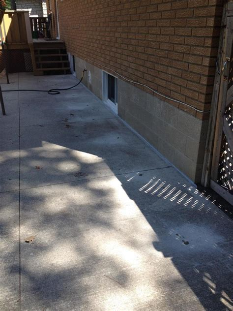 Concrete Lifting And Leveling Polylevel Project In How To Level Concrete Patio Slab