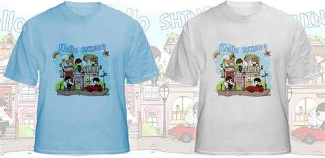Promo T Shirt Distro Gshop Cotton Combad 7 po shinee t shirt po tgl 13 september kshophouse