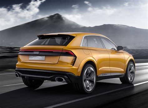 designboom audi audi q8 sport concept previews luxury suv with 1190 km range