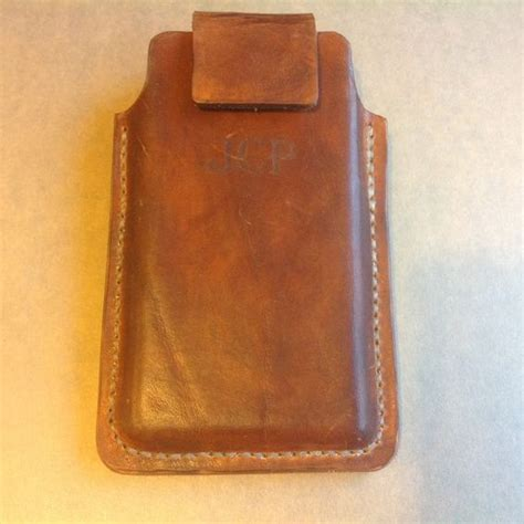Handmade Leather Cell Phone Holsters - buy a custom made leather cell phone holster for samsung