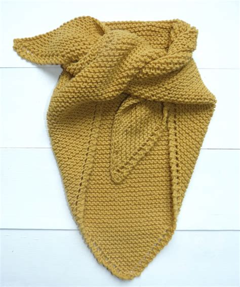 Echarpe Triangle Tricot by Tuto Tricot Auguste Et P 233 N 233 Lope
