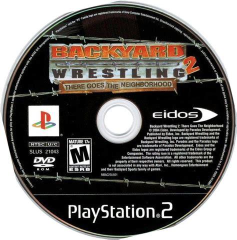 backyard wrestling dvd index of juegos caratulas b
