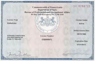 Esthetician Tx Free Cosmetology Booth Rental License In