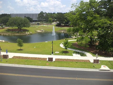 park tallahassee file cascades park tallahassee smokey hollow pond from parking garage jpg