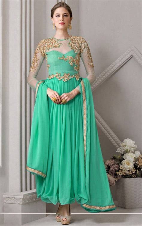 olive green color gown anarkali salwar kameez latest view image 67 best designer anarkali suits images on pinterest