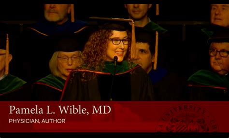 Loyola Commencement Mba 2017 by Loyola Commencement Speech Quot Live Your Quot Wible Md