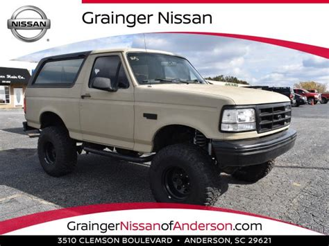 used ford bronco for sale used ford bronco for sale special offers edmunds