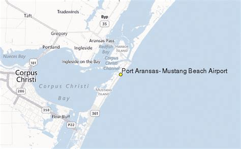 port aransas texas map port aransas mustang airport tx weather station record historical weather for port