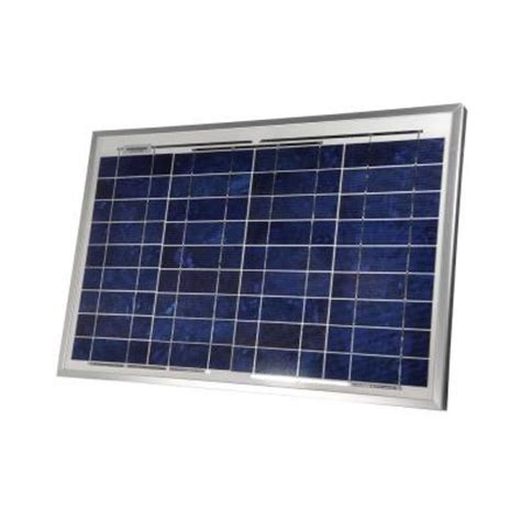 sunforce 30 watt crystalline solar panel 37003 the home
