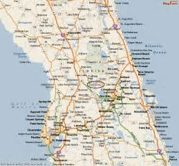 Map Of Leesburg Florida by Lake Griffin