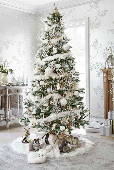 Decoration Arbre De Noel by D 233 Co Sapin Blanc Nos Id 233 Es Pour Un Arbre De No 235 L R 233 Ussi