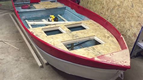 aluminum jon boat mods jon boat mods part 3 the boetker channel youtube
