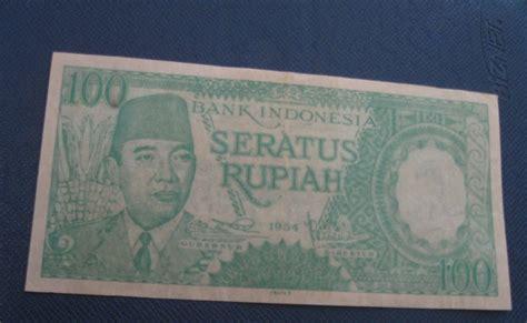 Uang Kuno Gambar Ir Soekarno perantara jual beli uang kertas rp 100 gambar ir