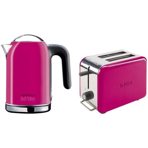 Pink Toaster And Kettle pin by style me up on house ideas