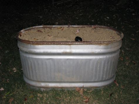 picture of metal trough planter 187 home decorations insight