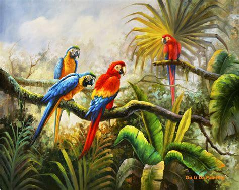 Wildlife Wall Mural jungle peintures promotion achetez des jungle peintures