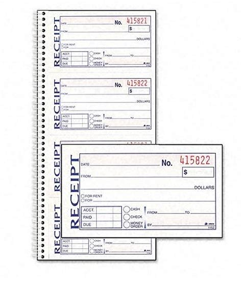 how to make a receipt template raul how to make a receipt book