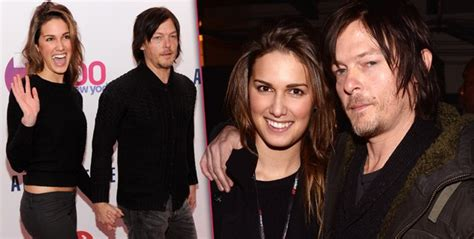 Does Norman Reedus Have A Girlfriend   does norman reedus have a girlfriend norman reedus girlfriend