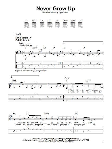 Dear John Taylor Swift Guitar Chords