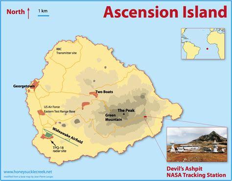 ascension island map ascension island map st helena ascension tristan da